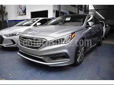 Foto venta Auto usado Hyundai Sonata SPORT 2.0 TA (2017) color Gris precio $365,000