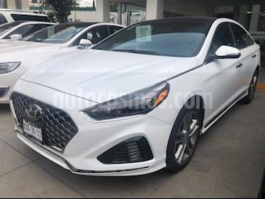 Foto venta Auto usado Hyundai Sonata SPORT 2.0 TA (2018) color Blanco precio $418,000