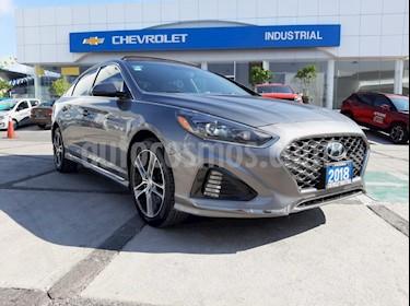Foto venta Auto usado Hyundai Sonata Sport 2.0T (2018) color Gris precio $340,000