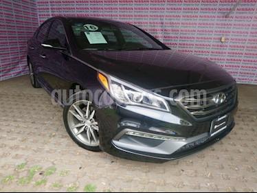 Foto Hyundai Sonata Sport 2.0T usado (2016) color Negro precio $298,000