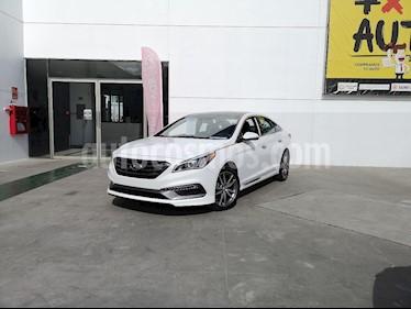 Foto venta Auto usado Hyundai Sonata Sport 2.0T (2016) color Blanco precio $295,000