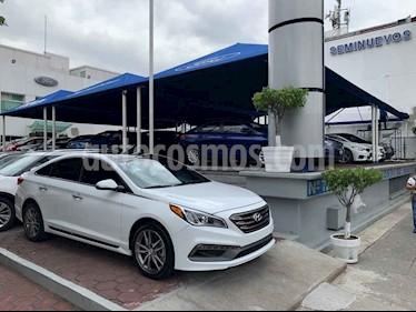 Foto venta Auto usado Hyundai Sonata Sport 2.0T (2016) color Blanco precio $302,900