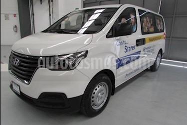 Foto venta Auto usado Hyundai Starex 5 pts manual 12P (2019) color Blanco precio $408,900