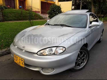 Foto venta Carro usado Hyundai Tiburon Sinc. (1998) color Plata precio $15.500.000