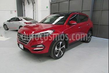 Foto venta Auto usado Hyundai Tucson 5p Limited Tech Navi L4/2.0 Aut (2018) color Rojo precio $453,000