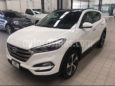 Foto venta Auto usado Hyundai Tucson 5p Limited Tech Navi L4/2.0 Aut (2018) color Blanco precio $440,000