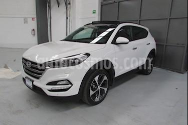 Foto venta Auto usado Hyundai Tucson 5p Limited Tech Navi L4/2.0 Aut (2018) color Amarillo precio $439,900