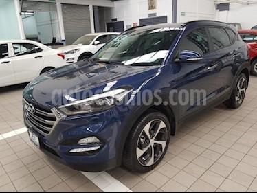 Foto venta Auto usado Hyundai Tucson 5p Limited Tech Navi L4/2.0 Aut (2018) color Azul Marino precio $419,000