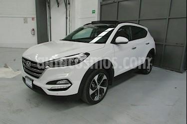 Foto venta Auto usado Hyundai Tucson 5p Limited Tech Navi L4/2.0 Aut (2018) color Blanco precio $439,900