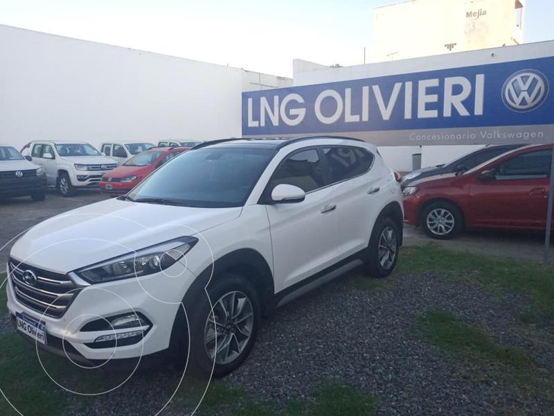 Foto Hyundai Tucson 4x4 2.0 Full Premium Diesel Aut  usado (2018) color Blanco precio $4.790.000