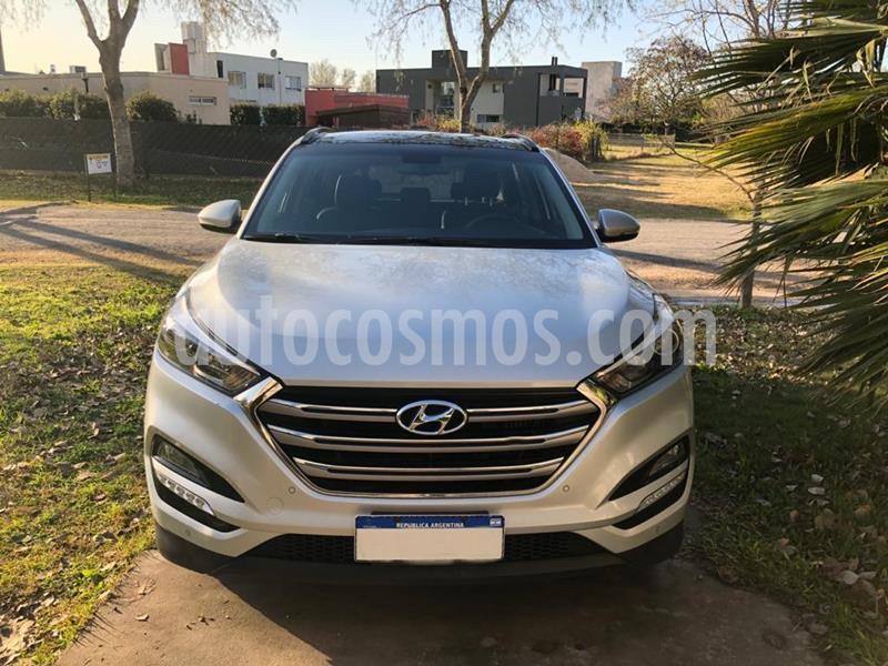 Hyundai Tucson GLS 4x4 2.0 CRDi Aut usado (2017) color Gris Claro precio $4.500.000