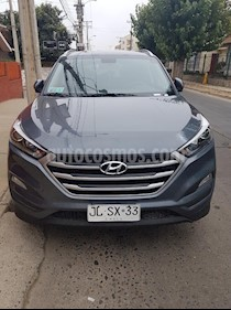 Hyundai Tucson  2.0 CRDi Advance  usado (2017) color Gris precio $6.250.000