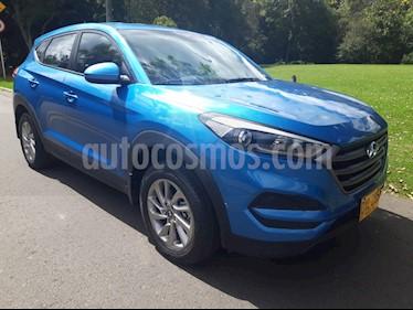 Hyundai Tucson 2.0 4x2 Aut usado (2016) color Azul precio $64.900.000
