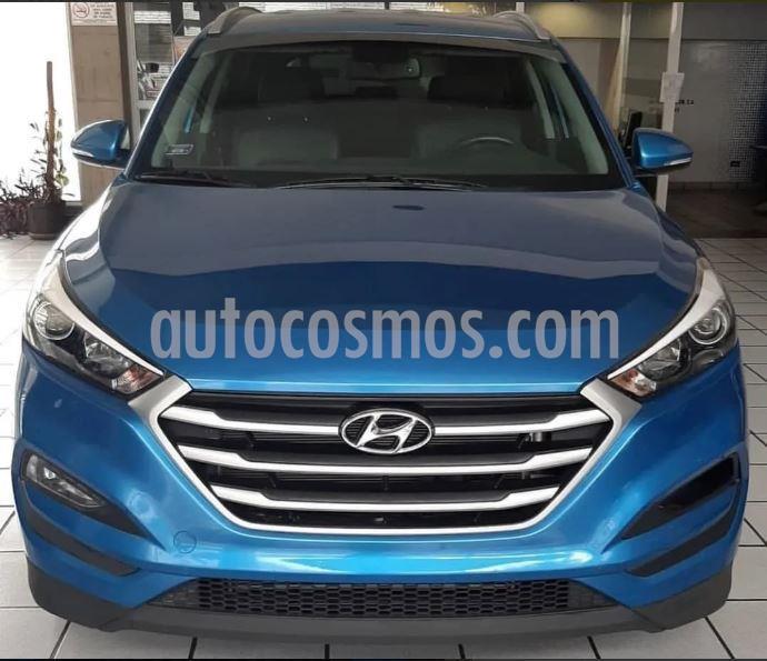 Hyundai Tucson 2.0 4x4 Aut  usado (2017) color Azul precio $50.000.000