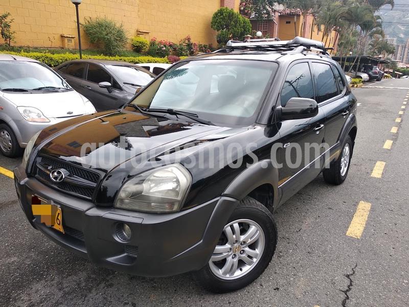 Hyundai Tucson GLS 4x4 2.7 Aut usado (2007) color Negro precio $25.000.000