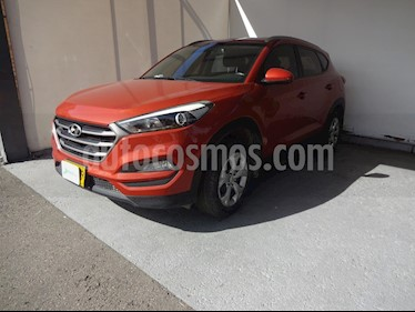 Hyundai Tucson 2.0 4x2 usado (2016) color Naranja precio $56.990.000