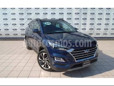 Foto venta Auto usado Hyundai Tucson Limited Tech (2019) color Azul precio $470,000