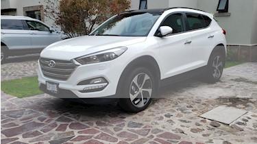 Hyundai Tucson Limited Tech usado (2017) color Blanco precio $350,000