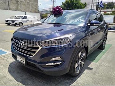 Foto venta Auto usado Hyundai Tucson Limited Tech (2018) color Azul precio $392,000