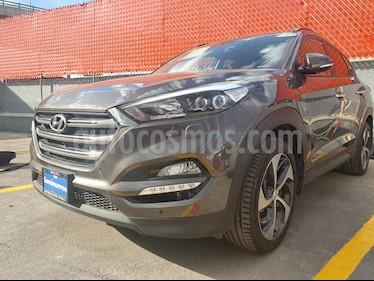 Foto venta Auto usado Hyundai Tucson Limited Tech (2018) color Gris precio $399,000