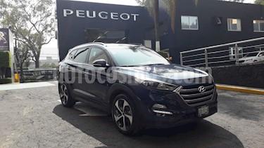 Foto venta Auto usado Hyundai Tucson Limited Tech (2018) color Azul precio $394,900
