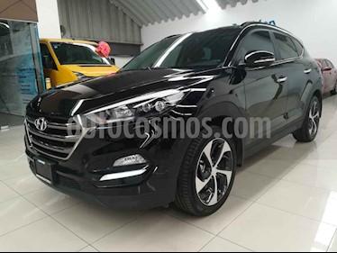 Foto venta Auto usado Hyundai Tucson Limited Tech (2018) color Negro precio $397,000