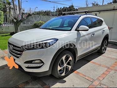 Hyundai Tucson Limited Tech usado (2017) color Blanco precio $368,000