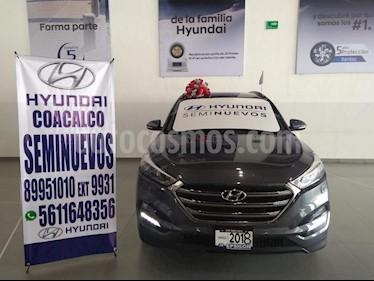 Foto venta Auto usado Hyundai Tucson Limited Tech (2018) color Gris precio $419,000