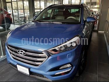 Foto venta Auto usado Hyundai Tucson Limited Tech (2017) color Azul precio $345,000