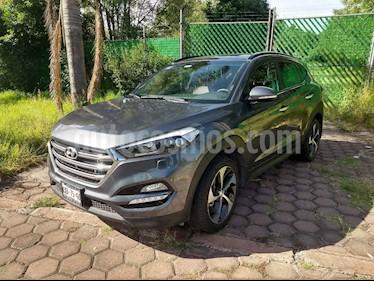 Foto venta Auto usado Hyundai Tucson Limited Tech (2018) color Gris precio $397,000
