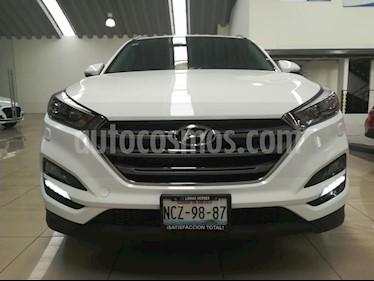 Foto venta Auto usado Hyundai Tucson Limited (2018) color Blanco precio $379,000
