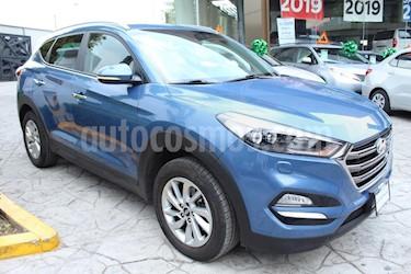Foto venta Auto usado Hyundai Tucson Limited (2016) color Azul precio $295,000