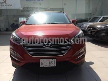 Foto venta Auto usado Hyundai Tucson Limited (2018) color Vino Tinto precio $395,000