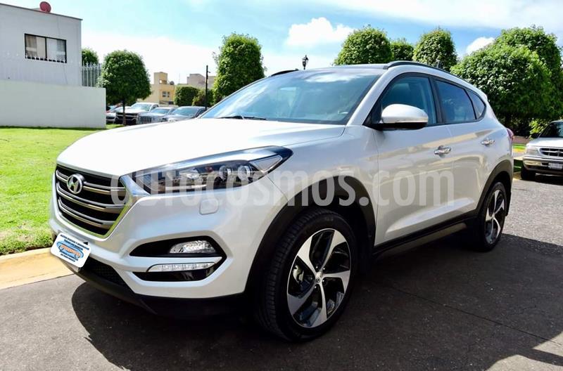 Hyundai Tucson Limited Tech usado (2018) color Plata precio $352,999