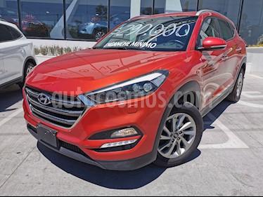 Hyundai Tucson Limited usado (2017) color Rojo precio $280,000