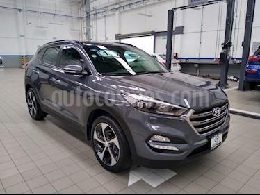 Hyundai Tucson Limited Tech usado (2018) color Gris precio $385,000