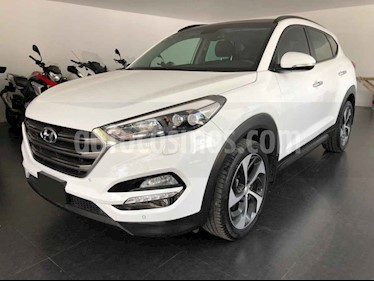 Hyundai Tucson 5p Limited Tech TA usado (2017) color Blanco precio $325,000