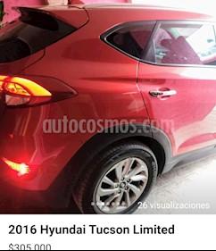Hyundai Tucson Limited usado (2016) color Rojo precio $305,000