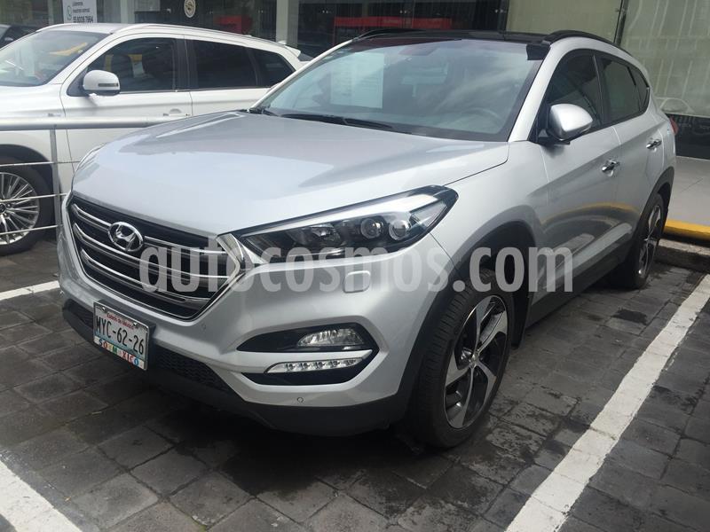 Hyundai Tucson Limited Tech usado (2017) color Plata Dorado precio $310,000