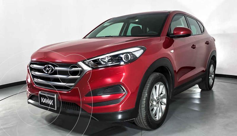 Hyundai Tucson GLS usado (2018) color Rojo precio $302,999