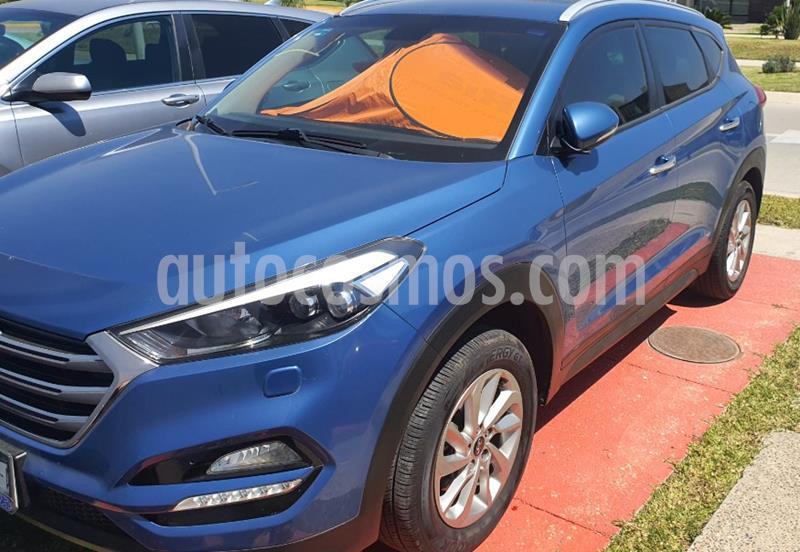 Hyundai Tucson Limited usado (2016) color Azul precio $305,000