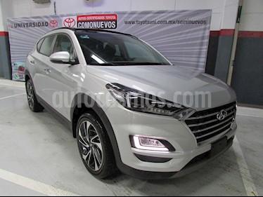 Hyundai Tucson Limited Tech usado (2019) color Plata precio $485,000