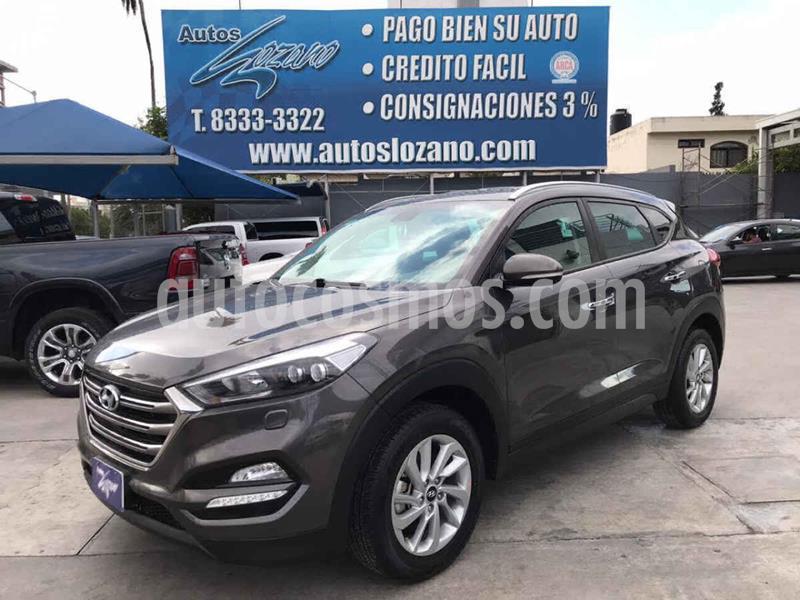 Hyundai Tucson Limited usado (2018) color Gris precio $339,900