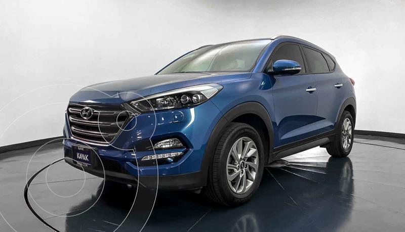 Hyundai Tucson GLS usado (2018) color Azul precio $319,999
