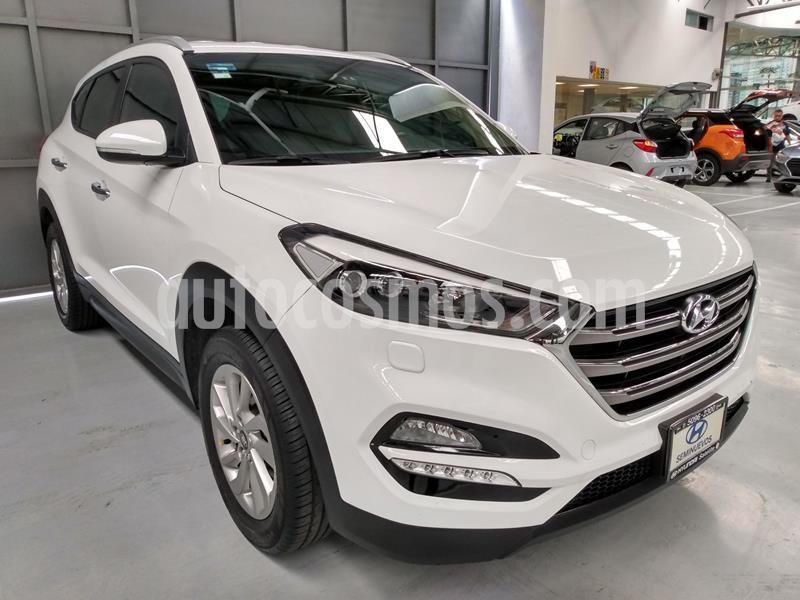 Hyundai Tucson Limited usado (2017) color Blanco precio $292,000