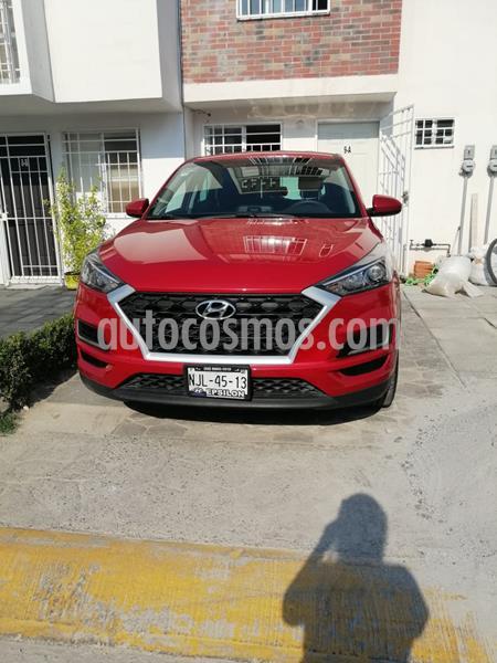 Hyundai Tucson GLS usado (2019) color Rojo precio $300,000
