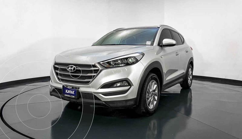 Hyundai Tucson GLS usado (2018) color Plata precio $292,999