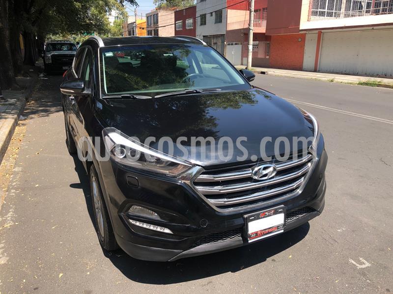 Hyundai Tucson Limited usado (2016) color Negro precio $242,900