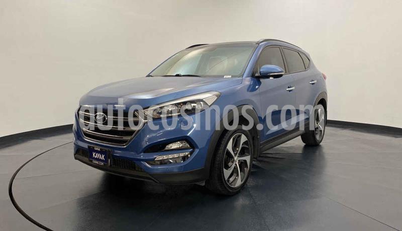 Hyundai Tucson Limited Tech usado (2016) color Azul precio $309,999