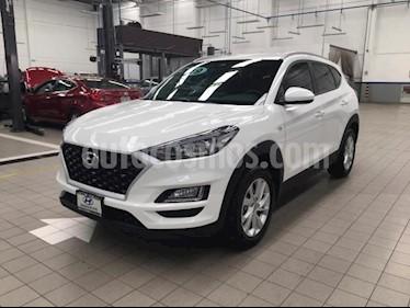 Hyundai Tucson 5P GLS PREMIUM L4/2.0 AUT usado (2019) color Blanco precio $375,000